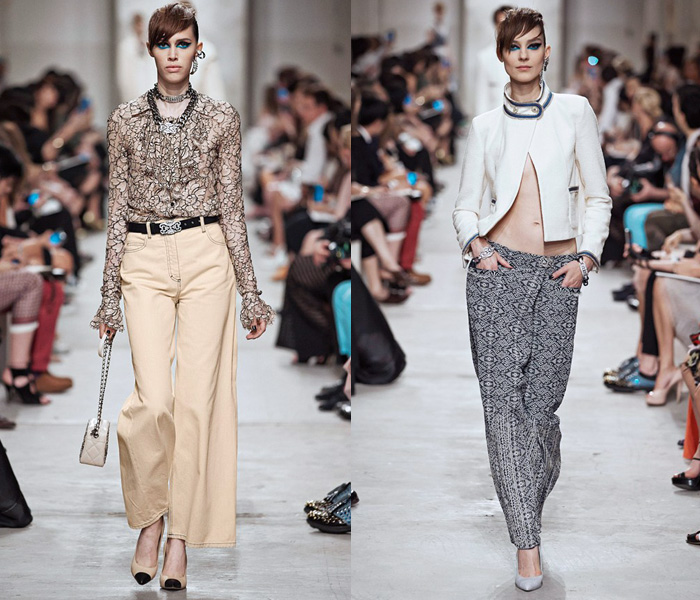 1b7d0f29f43937 Chanel 2014 Cruise Runway Collection - 2014 Resort Pre Spring Défilé  Croisière Femme Womens & Mens