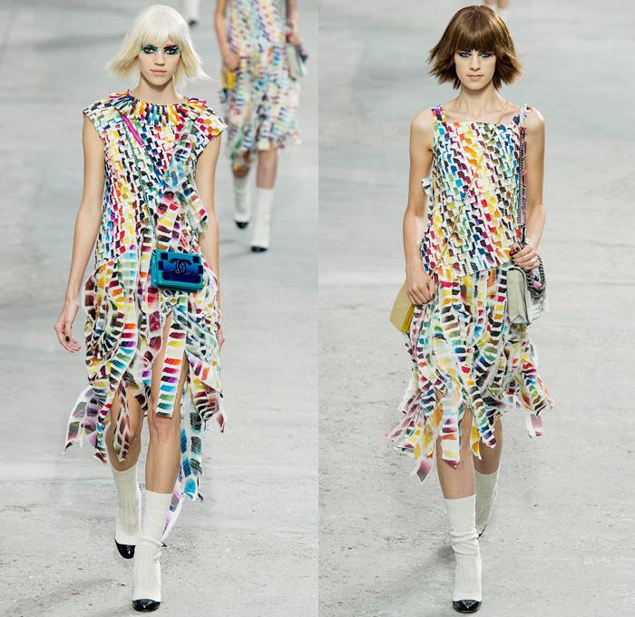 Chanel 2014 Spring Summer Womens Runway Denim Jeans