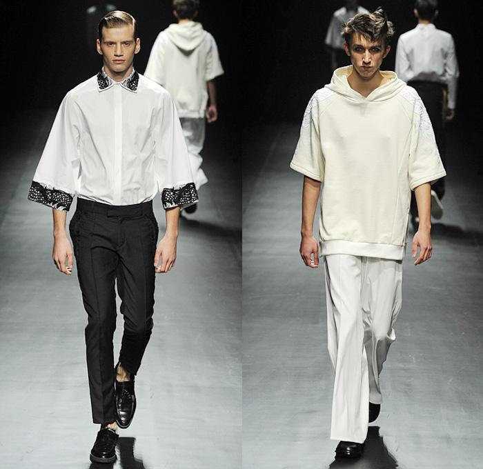 Christian Dada 2014 Spring Summer Runway Denim Jeans