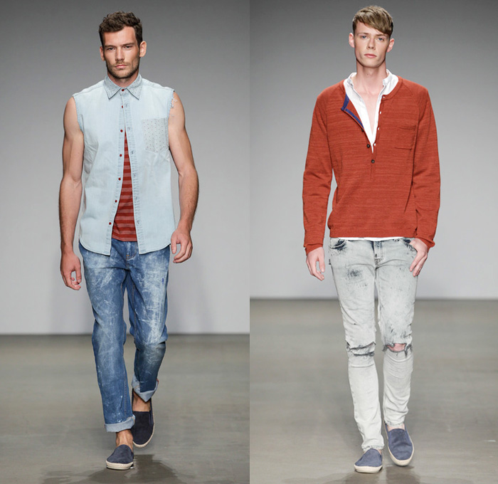 Men Fashion Show Casual Casual pieces included