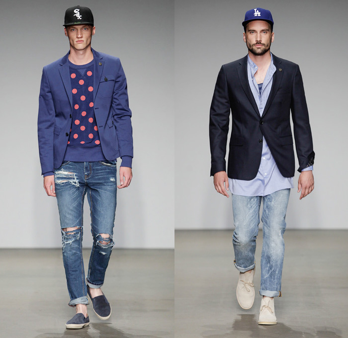 Cold Method 2014 Spring Summer Mens Runway Collection - Amsterdam Fashion Week: Designer Denim Jeans Fashion: Season Collections, Runways, Lookbooks and Linesheets