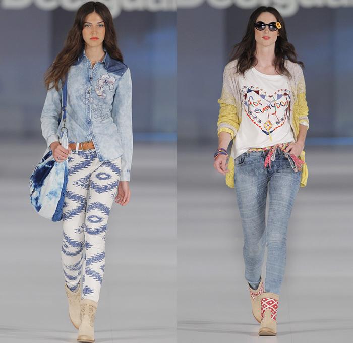 Desigual Jeans Womens