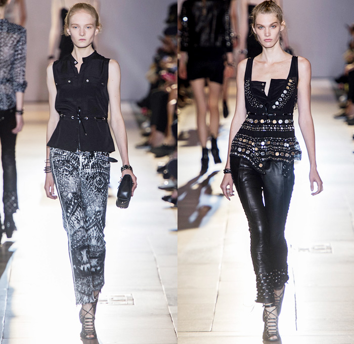 Diesel Black Gold 2014 Spring Summer Womens Runway Denim