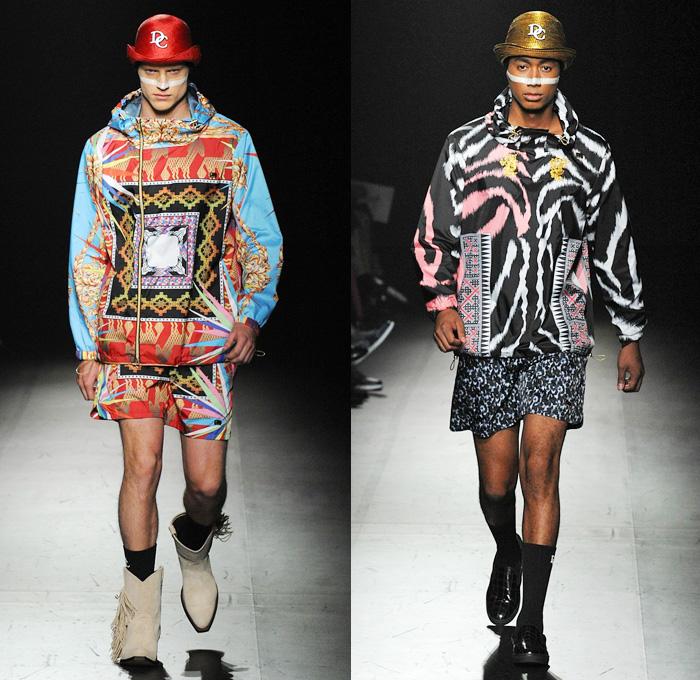 Dresscamp 2014 spring summer mens runway denim jeans for Mercedes benz clothing men