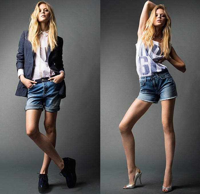 Drykorn 2014 Spring Summer Womens Looks Denim Jeans