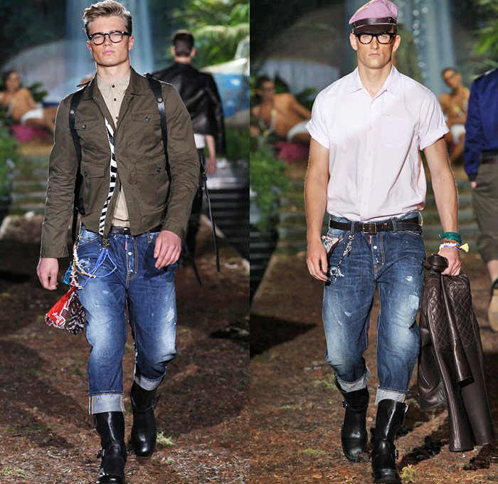 to wear - Jeans men Fashion foto video