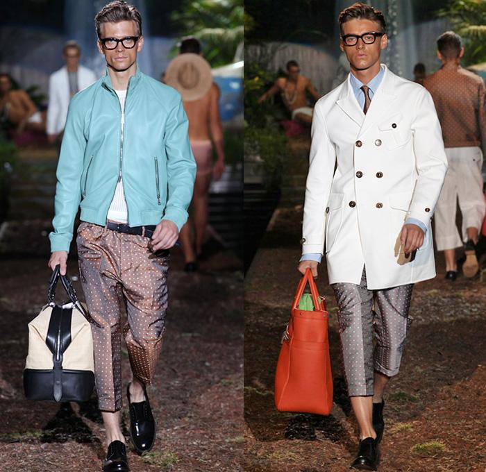 Dsquared2 2014 Spring Summer Mens Runway Denim Jeans