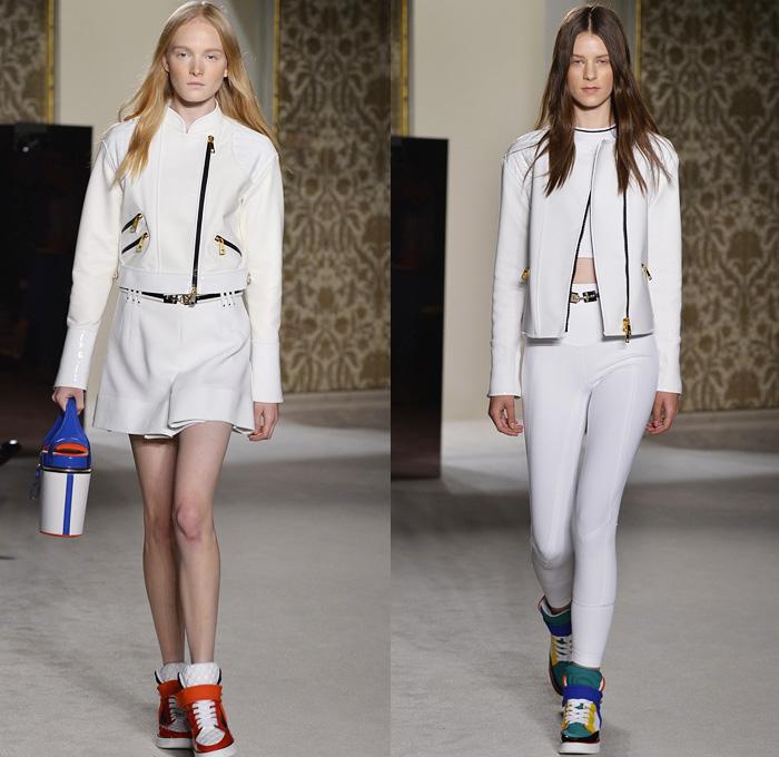 Fay 2014 Spring Summer Womens Runway Denim Jeans Fashion