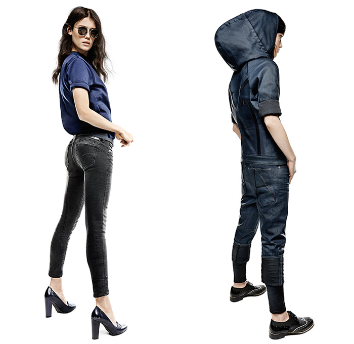 G Star Raw Summer 2014 Womens Collection Denim Jeans