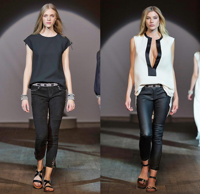 Hunkydory 2014 Spring Summer Womens Runway | Denim Jeans ...