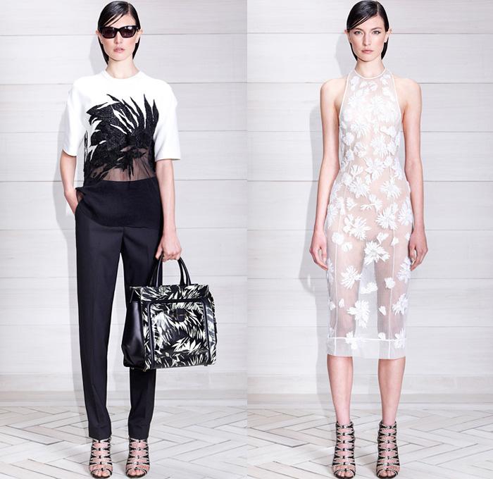Jason wu 2014 resort womens presentation denim jeans for Jason wu fashion designer