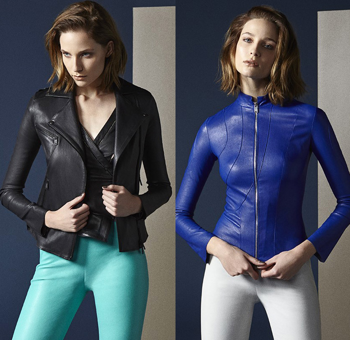 Womens Guess Leather Jacket