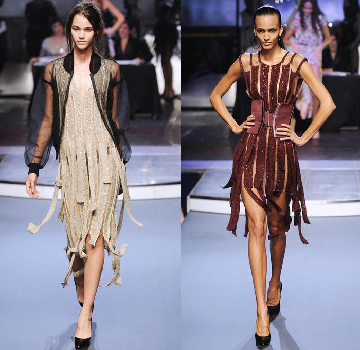 Jean Paul Gaultier 2014 Spring Summer Womens Denim Jeans