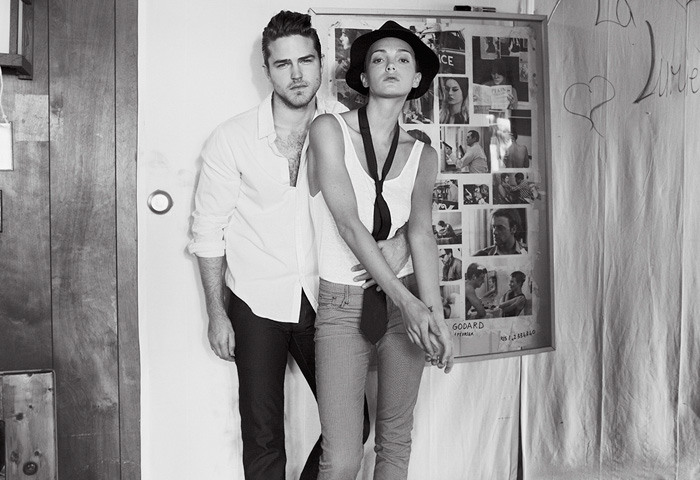 JOE's Jeans 2014 Spring Summer Ad Campaign - Just a Perfect Day - Mens Womens Denim Fashion - Weekender Collection