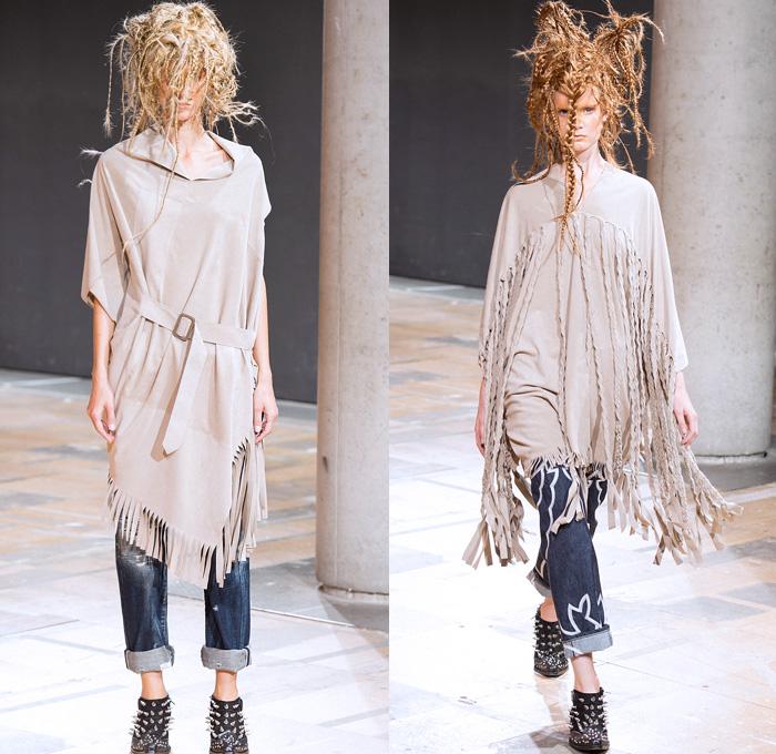 Junya Watanabe 2014 Spring Summer Womens Runway Denim Jeans Fashion Week Runway Catwalks