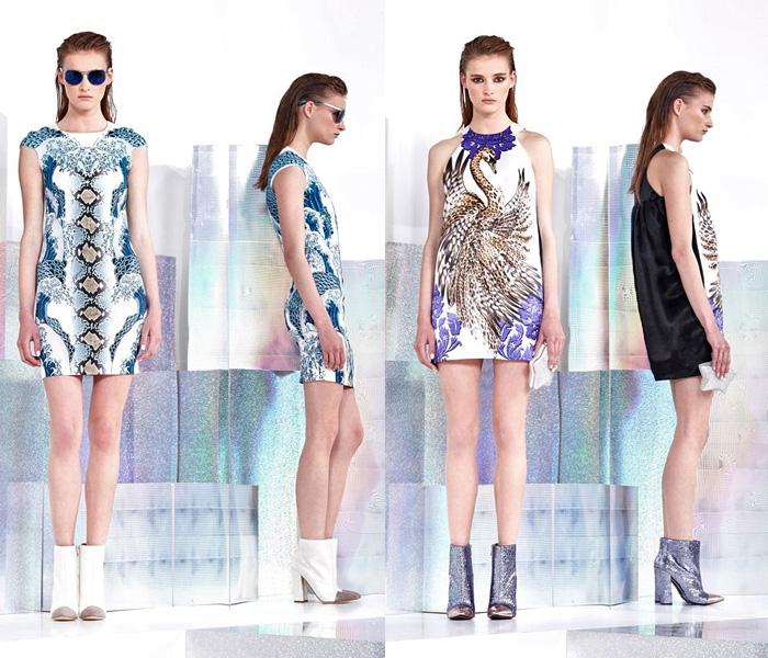Just Cavalli 2014 Resort Womens Presentation Denim Jeans Fashion Week Runway Catwalks Fashion