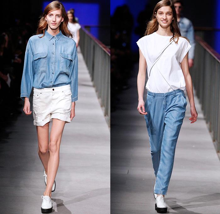 Mango 2014 Spring Summer Womens Runway Denim Jeans