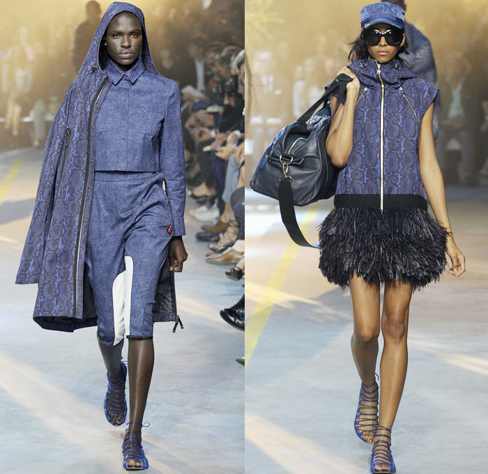 Moncler Gamme Rouge 2014 Spring Summer Womens Runway | Denim Jeans ...
