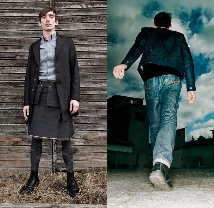 Nudie Jeans 2014 Spring Mens Lookbook Denim Jeans