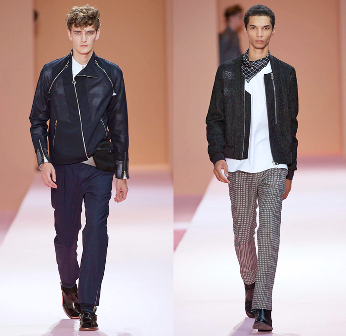 Paul Smith 2014 Spring Summer Mens Runway Denim Jeans