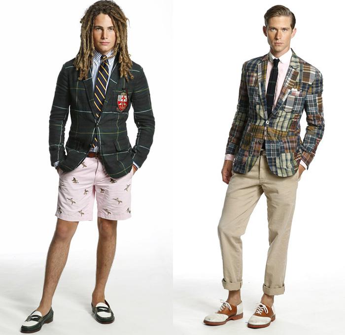 Ralph Lauren 2014 SS Mens Presentation | Denim Jeans Fashion Week ...