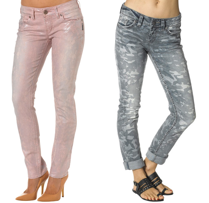 Silver Jeans Co. 2014 Spring Womens Collection | Denim Jeans ...