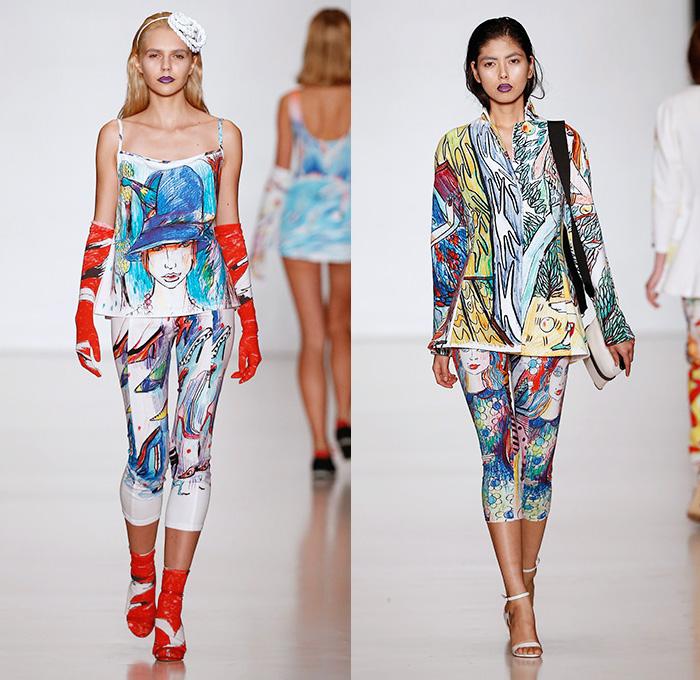 Tatyana Parfionova 2014 Spring Summer Womens Denim Jeans