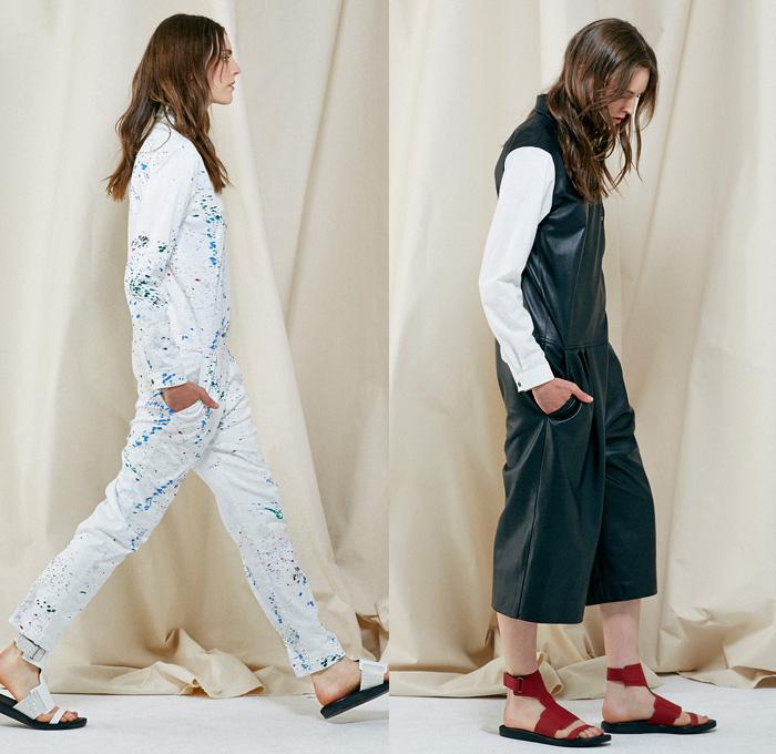 Tibi 2014 Resort Womens Presentation Denim Jeans Fashion Week Runway Catwalks Fashion Shows Season Collections Lookbooks Gt Fashion Forward