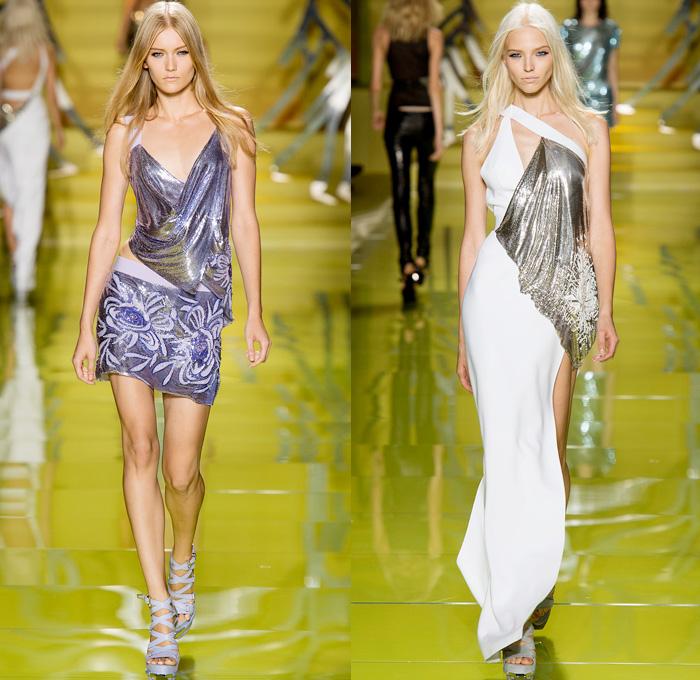 Versace 2014 Spring Summer Womens Show Denim Jeans