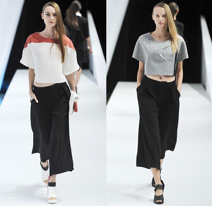 Mercedes Benz Of Silver Spring >> Yasutoshi Ezumi 2014 Spring Summer Womens   Denim Jeans Fashion Week Runway Catwalks, Fashion ...