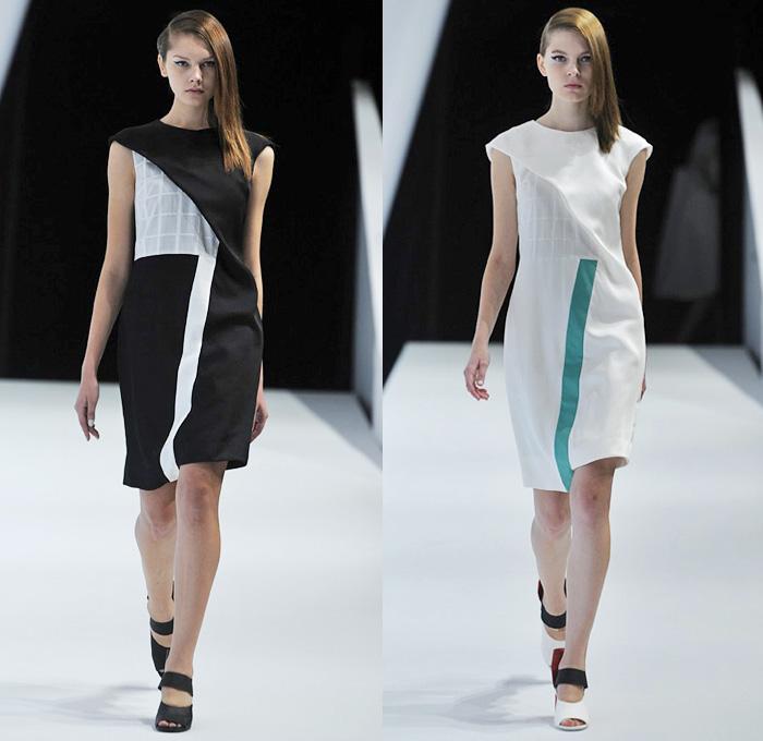 Yasutoshi Ezumi 2014 Spring Summer Womens Denim Jeans Fashion Week Runway Catwalks Fashion