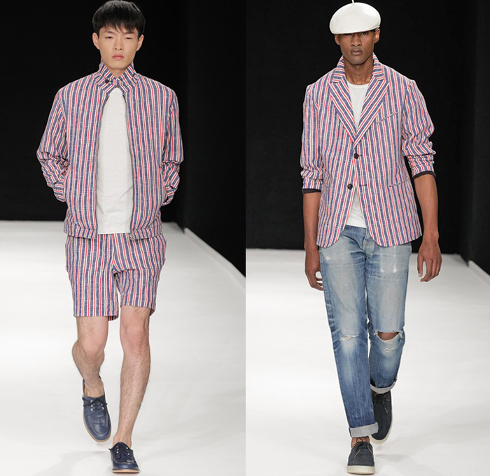 ymc 2014 spring summer mens runway denim jeans fashion