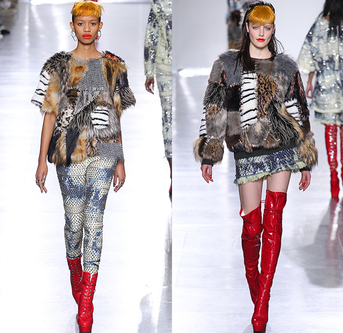 Furry Creatures 2015 16 Fall Winter Womens Fashion Trends Denim