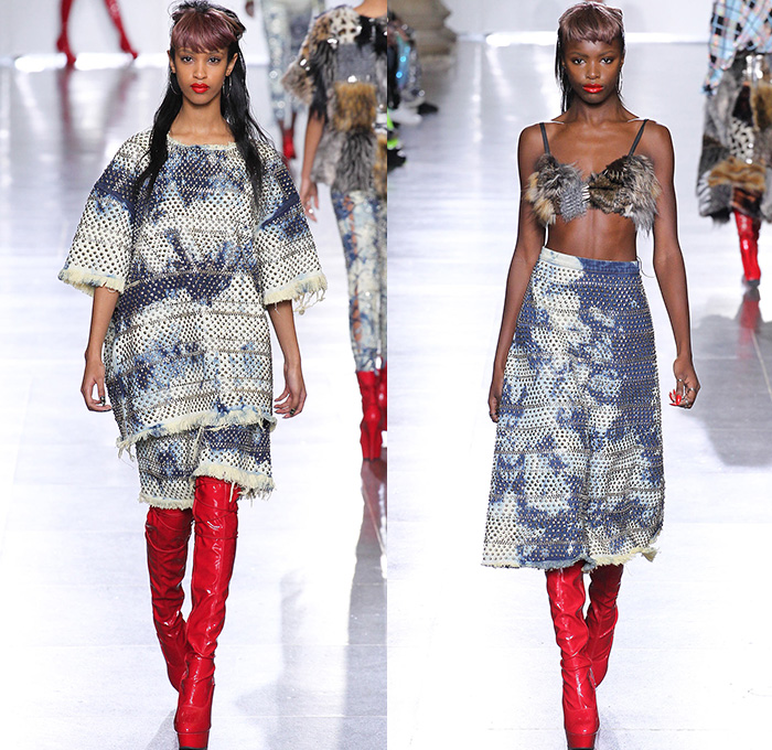 Ashish 2015 2016 Fall Autumn Winter Womens Runway Denim