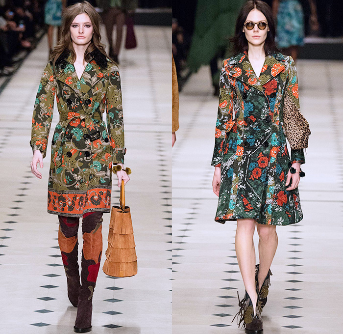Burberry Prorsum 2015 2016 Fall Autumn Winter Womens