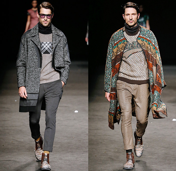 Custo Barcelona 2015 2016 Fall Autumn Winter Mens Runway