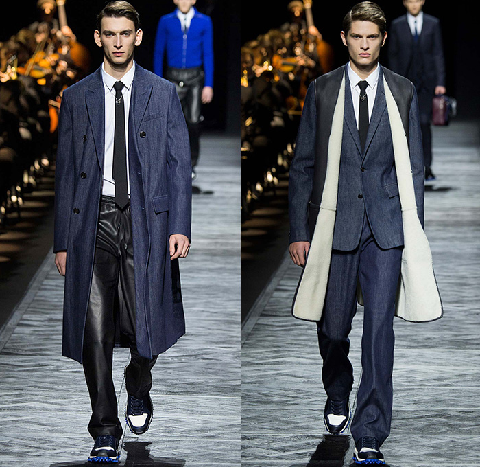 Dior homme conducts their 2015 2016 fall autumn winter mens runway