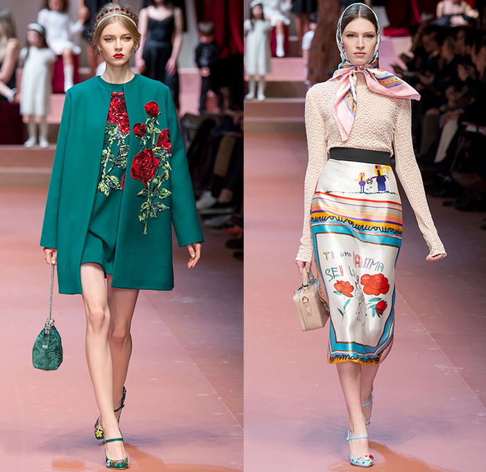 d9abc26380 Dolce + Gabbana 2015-2016 Fall Autumn Winter Womens Runway Catwalk Looks -  Milano Moda