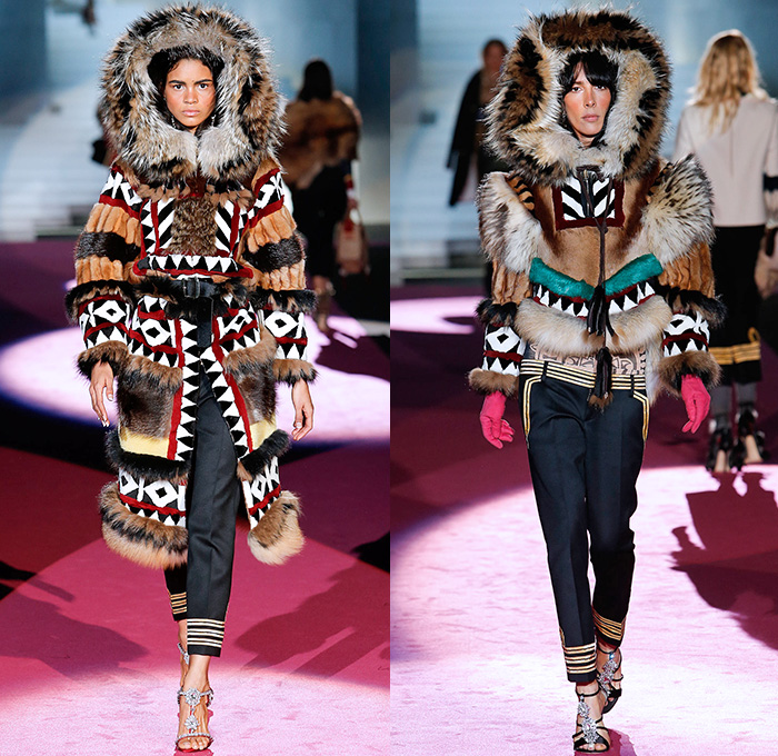 Dsquared2 2015-2016 Fall Autumn Winter Womens Runway Catwalk Looks - Milano  Moda Donna Collezione 61ca30647ae2