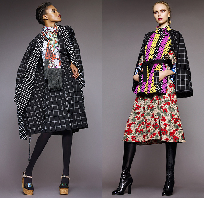 Duro Olowu conducted his 2015-2016 Fall Autumn Winter Womens Lookbook ...