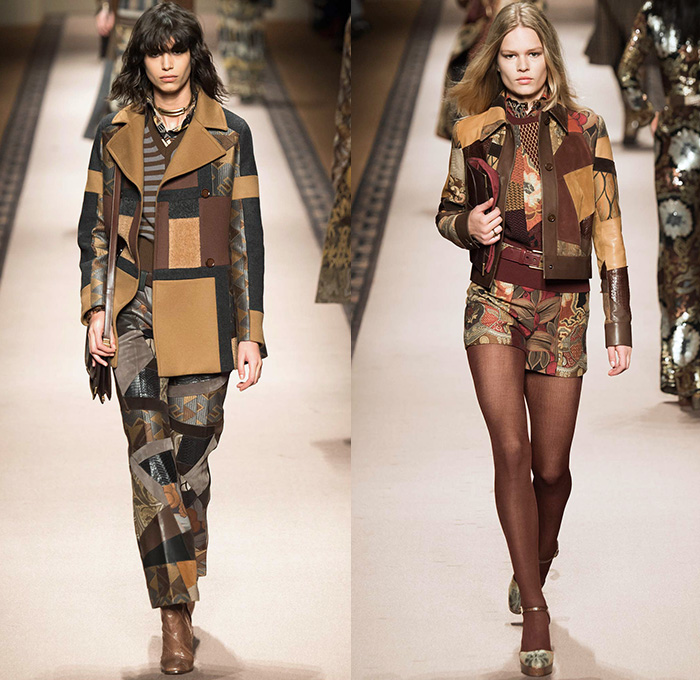 finest selection b8e8e 327c8 Etro 2015-2016 Fall Autumn Winter Womens Runway Catwalk ...