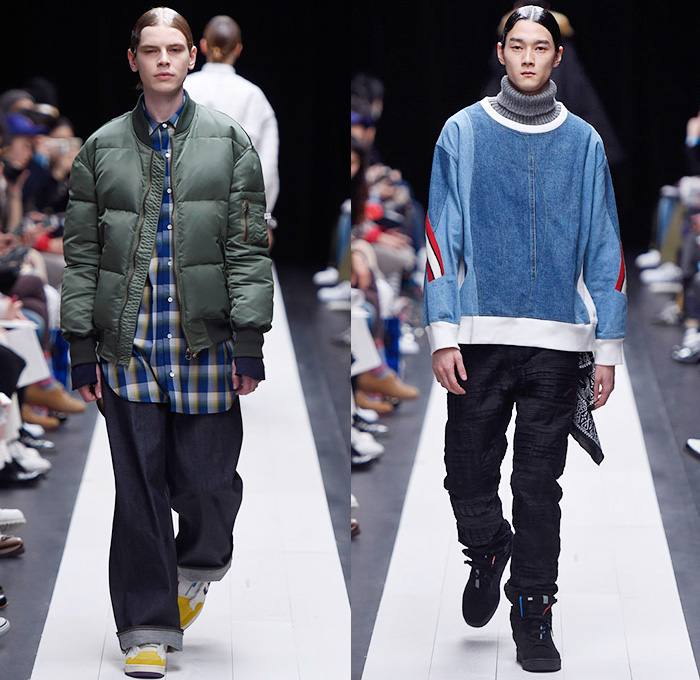 Facetasm 2015 2016 Fall Autumn Winter Mens Runway Looks