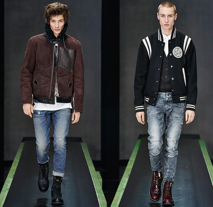 G Star Raw 2015 2016 Fall Autumn Winter Mens Runway Looks