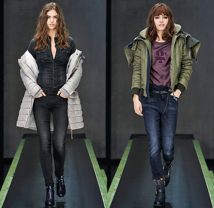 9135823683e G-Star RAW Amsterdam 2015-2016 Fall Autumn Winter Womens Runway Catwalk  Looks -