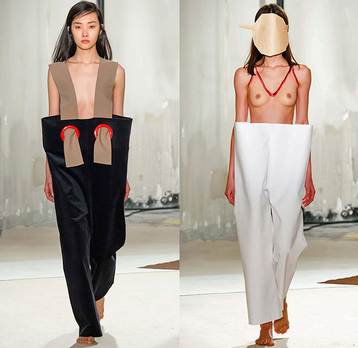 074f9c1e6882 Jacquemus 2015-2016 Fall Autumn Winter Womens Runway Catwalk Looks - Mode à  Paris Fashion