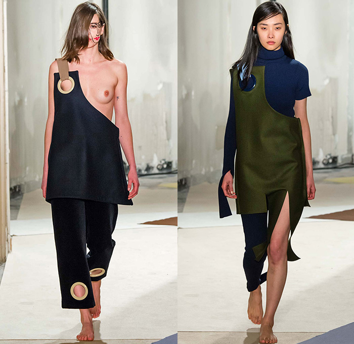 Jacquemus 2015 2016 Fall Autumn Winter Womens Runway Denim Jeans Fashion Week Runway Catwalks