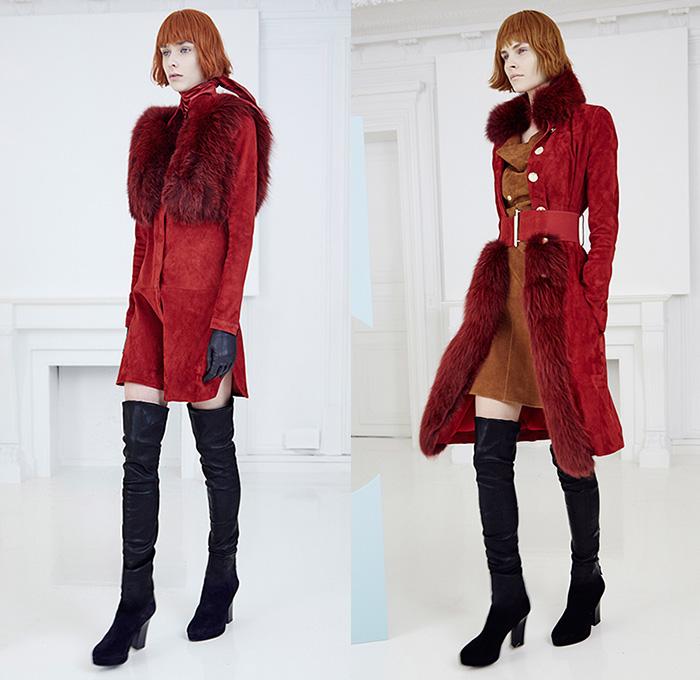 Jitrois 2015 2016 Fall Autumn Winter Womens Looks Presentation Denim Jeans Fashion Week Runway