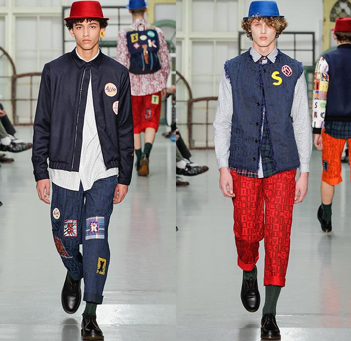 Kit Neale 2015 2016 Fall Autumn Winter Mens Runway Denim Jeans Fashion Week Runway Catwalks