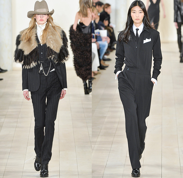 Ralph Lauren 2015-2016 Fall Autumn Winter Womens Runway Catwalk Looks - Mercedes-Benz