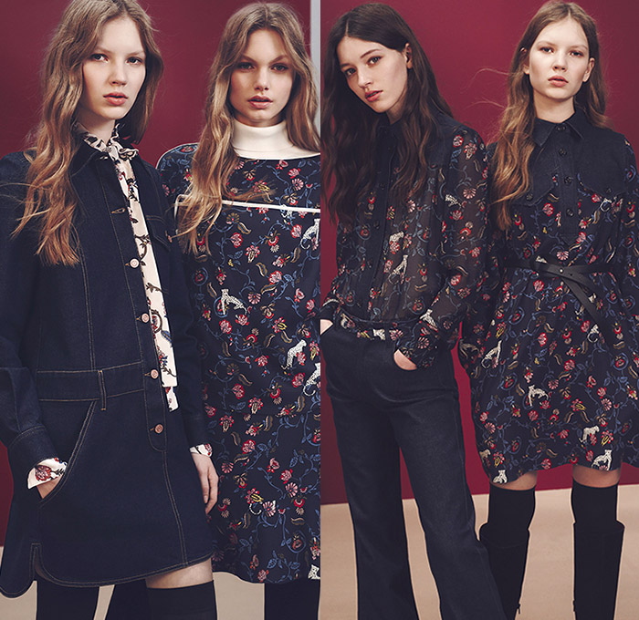 a50263ff256f See by Chloé Paris 2015-2016 Fall Autumn Winter Womens Lookbook  Presentation - New York